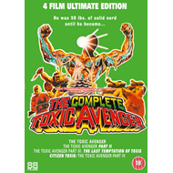 The Toxic Avenger Collection (UK-import) (DVD)
