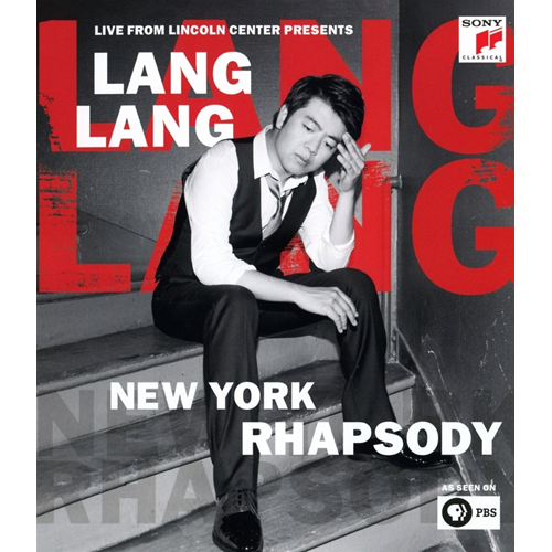 Lang Lang - Live From Lincoln Center Presents New York Rhapsody (BLU-RAY)