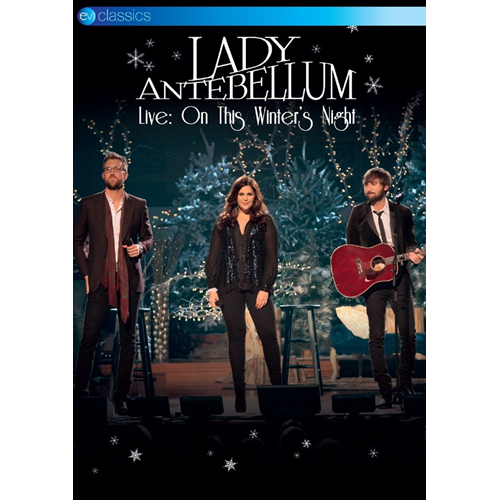 Lady Antebellum - Live: On This Winter' s Night (UK-import) (DVD)