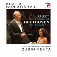 Khatia Buniatishvili - Liszt: Piano Concerto No. 2 In A-Major, S. 125 & Beethoven: Piano Concerto No (BLU-RAY)