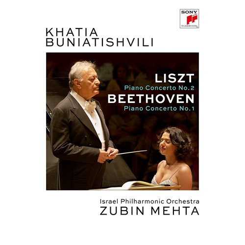 Khatia Buniatishvili - Liszt: Piano Concerto No. 2 In A-Major, S. 125 & Beethoven: Piano Concerto No (DVD)