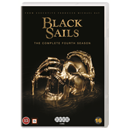 Produktbilde for Black Sails - Sesong 4 (DVD)