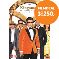 Produktbilde for Kingsman 2: The Golden Circle (DVD)
