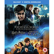 J.K. Rowling's Wizarding World 9-Film Collection (UK-import) (BLU-RAY)