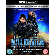 Valerian And The City Of A Thousand Planets (UK-import) (4K Ultra HD + Blu-ray)