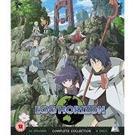 Log Horizon: Complete Collection (UK-import) (BLU-RAY)