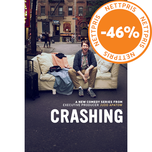 Crashing - Sesong 1 (DVD)