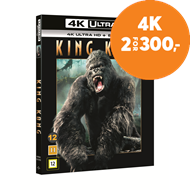 Produktbilde for King Kong (2005) (4K Ultra HD + Blu-ray)