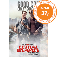 Produktbilde for Lethal Weapon - Sesong 1 (DVD)