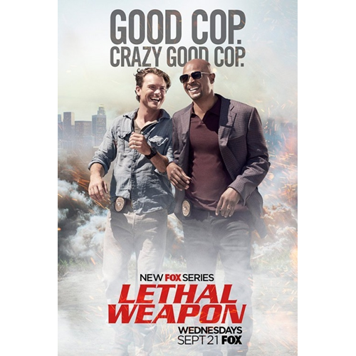 Lethal Weapon - Sesong 1 (DVD)