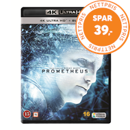 Produktbilde for Prometheus (4K Ultra HD + Blu-ray)