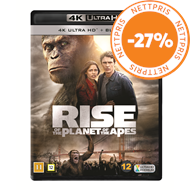 Produktbilde for Rise Of The Planet Of The Apes (4K Ultra HD + Blu-ray)