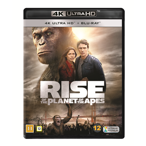 Rise Of The Planet Of The Apes (4K Ultra HD + Blu-ray)
