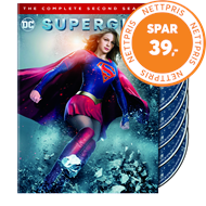 Produktbilde for Supergirl - Sesong 2 (DVD)