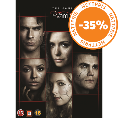 The Vampire Diaries - The Complete Series (DVD)