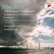 "Schubert: Symphony No 8 In B Minor D 759 ""Unfinished"" (Complete Version) (CD)"