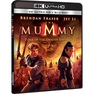 The Mummy: Tomb Of The Dragon (4K Ultra HD + Blu-ray)