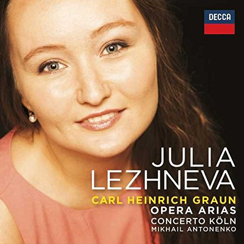 Julia Lezhneva - Graun Arias (CD)