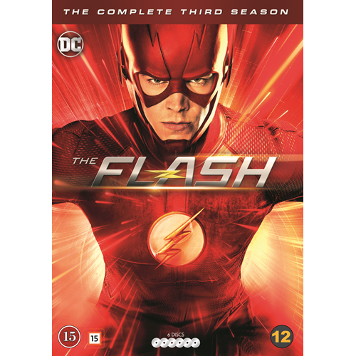 The Flash - Sesong 3 (DVD)