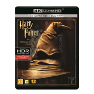 Harry Potter Og De Vises Stein (4K Ultra HD + Blu-ray)