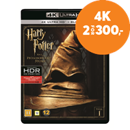Produktbilde for Harry Potter Og De Vises Stein (4K Ultra HD + Blu-ray)