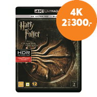 Produktbilde for Harry Potter Og Mysteriekammeret (4K Ultra HD + Blu-ray)