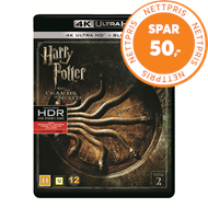 Produktbilde for Harry Potter Og Mysteriekammeret (2) (4K Ultra HD + Blu-ray)