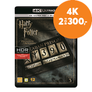 Produktbilde for Harry Potter Og Fangen Fra Azkaban (4K Ultra HD + Blu-ray)