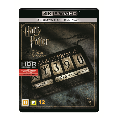 Harry Potter Og Fangen Fra Azkaban (4K Ultra HD + Blu-ray)