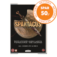Produktbilde for Spartacus Complete Box (Re-Pack) (DVD)