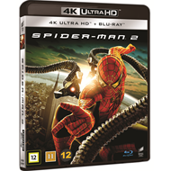 Produktbilde for Spider-Man 2 (2004) (DK-import) (4K Ultra HD + Blu-ray)
