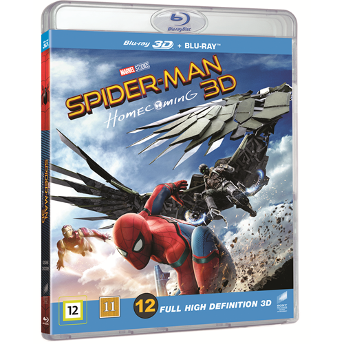 Spider-Man: Homecoming (Blu-ray 3D + Blu-ray)