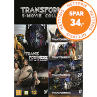 Produktbilde for Transformers 1 - 5 (DVD)