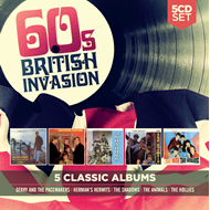Produktbilde for 5 Classic Albums: 60s British Invasion (5CD)