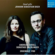 Dorothee Oberlinger & Andreas Scholl - Bach: Small Gifts (CD)