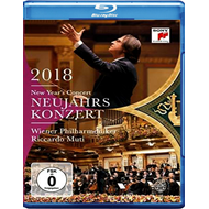 Produktbilde for New Years Concert 2018 (BLU-RAY)