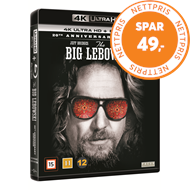 Produktbilde for The Big Lebowski (DK-import) (4K Ultra HD + Blu-ray)