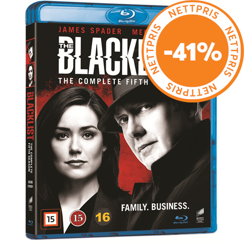The Blacklist - Sesong 5 (BLU-RAY)