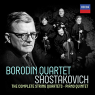Shostakovich: Complete String Quartets (7CD)