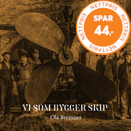 Produktbilde for Vi Som Bygger Skip (CD)