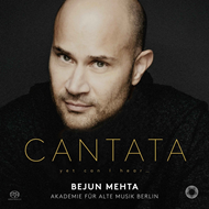 Produktbilde for Bejun Mehta - Cantata: Yet Can I Hear … (SACD-Hybrid)