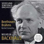 Wilhelm Backhaus Plays Beethoven And Brahms (3CD)