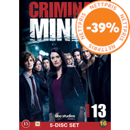Produktbilde for Criminal Minds - Sesong 13 (DVD)