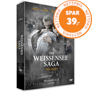 Produktbilde for The Weissensee Saga - Vol. 1-3 (DK-import) (DVD)