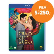 Produktbilde for Crazy Rich Asians (BLU-RAY)
