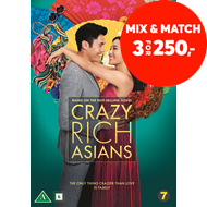 Produktbilde for Crazy Rich Asians (DVD)