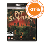 Produktbilde for Pet Sematary (1989) - 30th Anniversary Edition (4K Ultra HD + Blu-ray)
