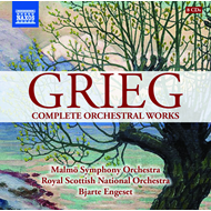 Grieg: Complete Orchestral Works (8CD)