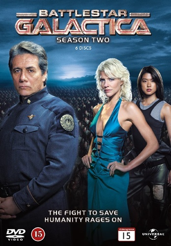 Battlestar Galactica - Sesong 2 (UK-import) (DVD)