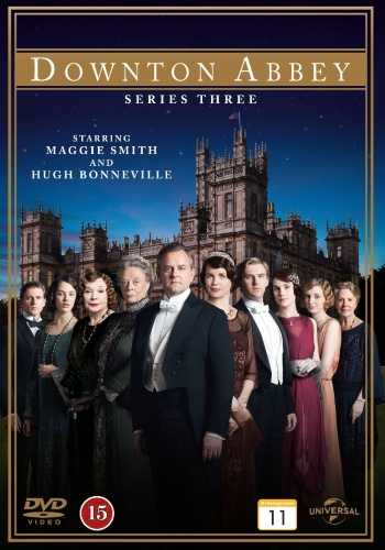 Downton Abbey - Sesong 3 (DVD)